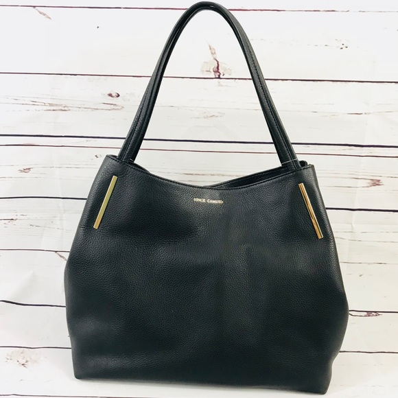 7a3aa950c1b Vince Camuto Bags | Ike Tote Pebbled Leather Shoulder Bag | Poshmark